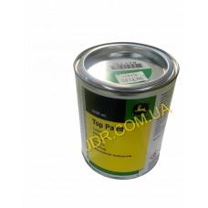 Фарба зелена JOHN DEERE в жестяних банках ємністю 1л на основі акрілових і вінілових полімерів,рочинена у неводному середовищі MCF1301 x1820