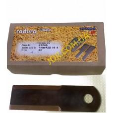 Ніж соломоподрібнювача, рівний 4 мм. діам. 18мм  28 14 4 (Z53454. 060017) x2645