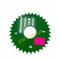 Ланцюгова зірочка зеленого кольору H119709 x2910