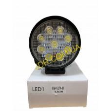 Балка світлодіодна LED Work Ligt 27W Round Flood Deam ETK-WL-27W-RD x3690
