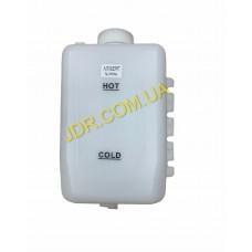 Бак (з кришкою та носиками для підключення шлангів) для охолоджувальної рідини двигуна (AT162597) x3996
