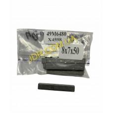 Шпонка призматична 8X7X50 мм (49M6480) x4598