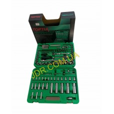 """Набір інструменту 1/4 """"& 1/2"""" 108од. (6-гр.) New box GCAI108R x4699"""
