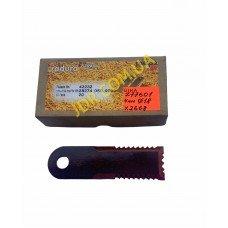Ніж соломоподрібнювача, рівний 4 мм. діам. 18мм  (Z77601) x2668