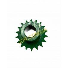 Ланцюгова зірочка зеленого кольору AH121047 x2901