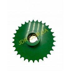 Ланцюгова зірочка зеленого кольору AH126008 x2905