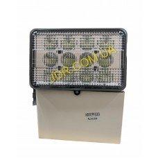 Квадратні світлодіодні фари з вилкою Rectangular 60W Led work lights With 9006 male Plug AH159333 x3159