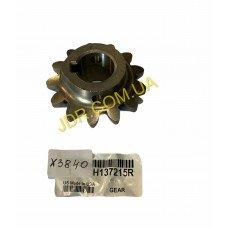 Шестерня конічна привода шнека (H137215) x3830