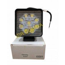 Балка світлодіодна LED Work Light 27W Square Flood Beam ETK-WL-27W-SQ x4260