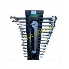 Набір ключів комбінованих на холдері 14 шт. 6-24 мм GAAC1401 x4860